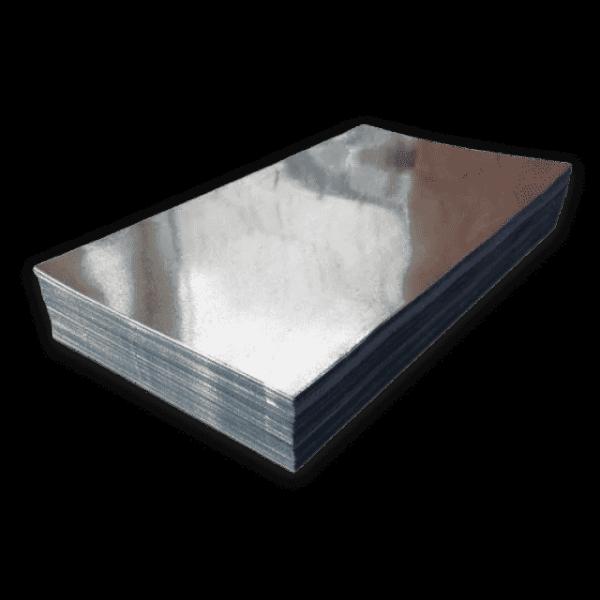 Гладкий лист оцинкованный 0,4 мм 1250х2000