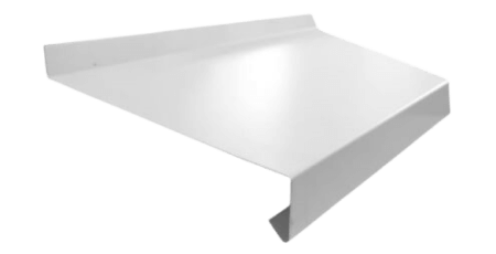 Оконный отлив белый
